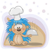 Cook Hedgehog Royalty Free Stock Photography