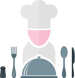 Cook icon Royalty Free Stock Photo