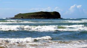 Cook Island, Fingal Head, NSW Royalty Free Stock Photo