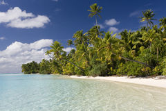 Cook Islands - Aitutaki Lagoon stock images