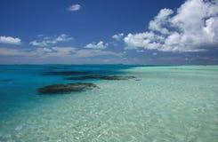 Cook islands Lagoon Stock Photo