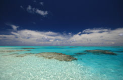 Cook islands Lagoon Stock Images