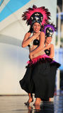 Cook Islands Oire Nikao Dance Royalty Free Stock Photos