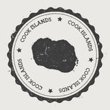 Cook Islands sticker. Stock Photography