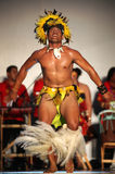 Cook Islands traditional dances royalty free stock images