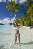 Cook Islands - Tropical Vacation royalty free stock images