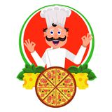 Cook italian Royalty Free Stock Photos