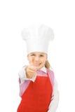 cook junior thumb up Стоковое Фото