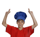 Cook kid. Royalty Free Stock Image