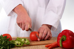 Cook man Stock Photography