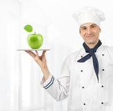Cook man Royalty Free Stock Images