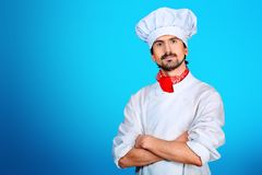 Cook man stock image
