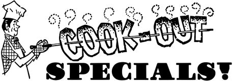 Cook-Out Specials Royalty Free Stock Photo