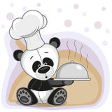 Cook Panda Royalty Free Stock Photo