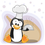 Cook Penguin Royalty Free Stock Images