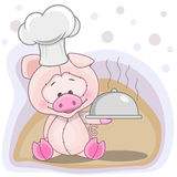 Cook Pig Royalty Free Stock Photography