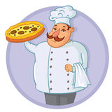 Cook Pizza Stock Images