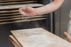 Cook pizzeria Stock Photo
