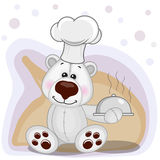 Cook Polar Bear Royalty Free Stock Images