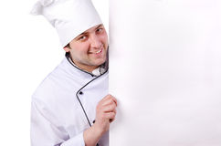 Cook, a poster, card Stock Image