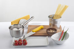 Cook preparation set Stock Image