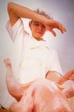 Cook prepares Stock Image