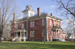 Cook-Rutledge Mansion in Chippewa Falls Stock Photos