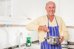 Cook senior Stock Image