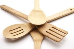 Cook spoon set Royalty Free Stock Photography