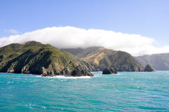 Cook Strait (New Zealand) Royalty Free Stock Photography
