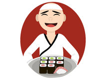 Cook-sushi master Royalty Free Stock Photography