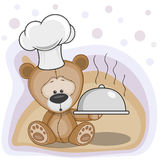 Cook Teddy Bear Stock Photo