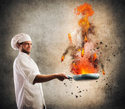 Cook troublemaker Royalty Free Stock Photos