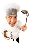 Cook in uniform Stock Photos