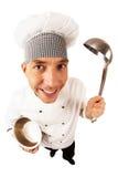 Cook in uniform Stock Photos
