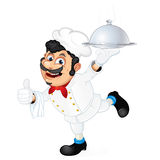Cook Waiter Royalty Free Stock Images