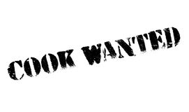 Cook Wanted rubber stamp Royalty Free Stock Photos