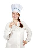 Cook With Tall Glass Of Water Stock Photos