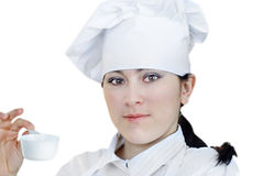 Cook woman Stock Photos