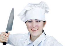 Cook woman Royalty Free Stock Photo