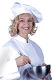 Cook woman Stock Photography