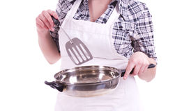 Cook woman Stock Photo