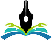 cookbook λογότυπο Στοκ εικόνα με δικαίωμα ελεύθερης χρήσης