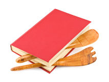 cookbook σκεύος για την κουζίνα στοκ φωτογραφίες