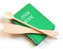Cookbook Stock Photo