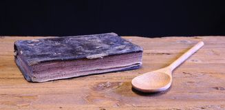 cookbook fotografia stock libera da diritti