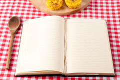 Cookbook Royalty Free Stock Photos