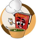 Cookbook Stock Image