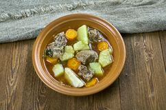 Cookbook Challenge. American  Lamb Stew Stock Photos