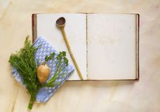 Cookbook Stock Photography